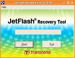 Программа для восстановления flash-накопителей.